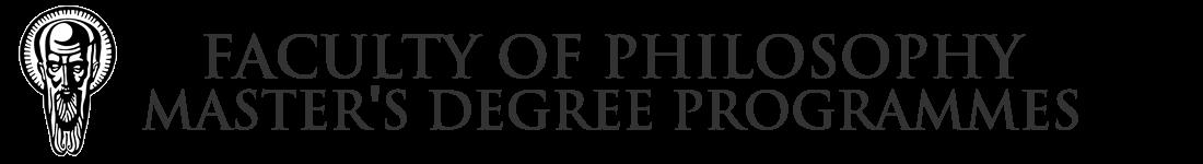 Master's Degree Programmes